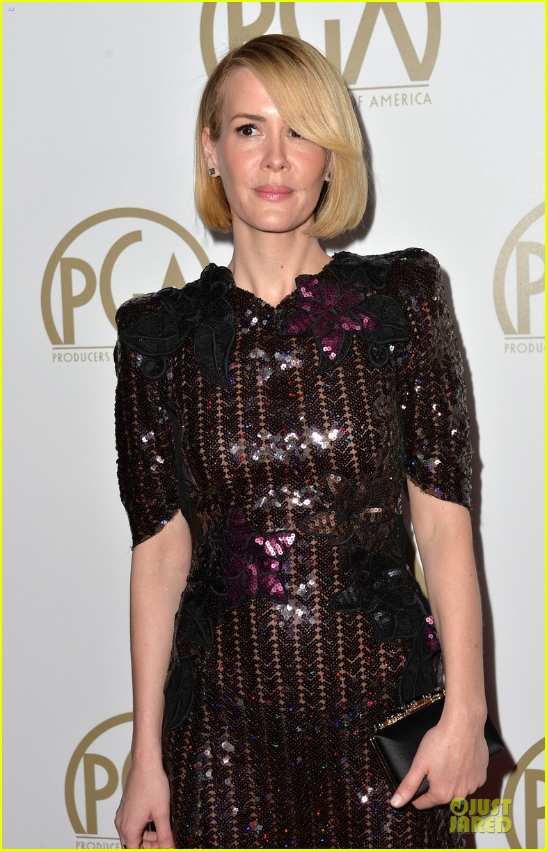 sarah paulson gillian anderson producers guild awards 2014 023035931