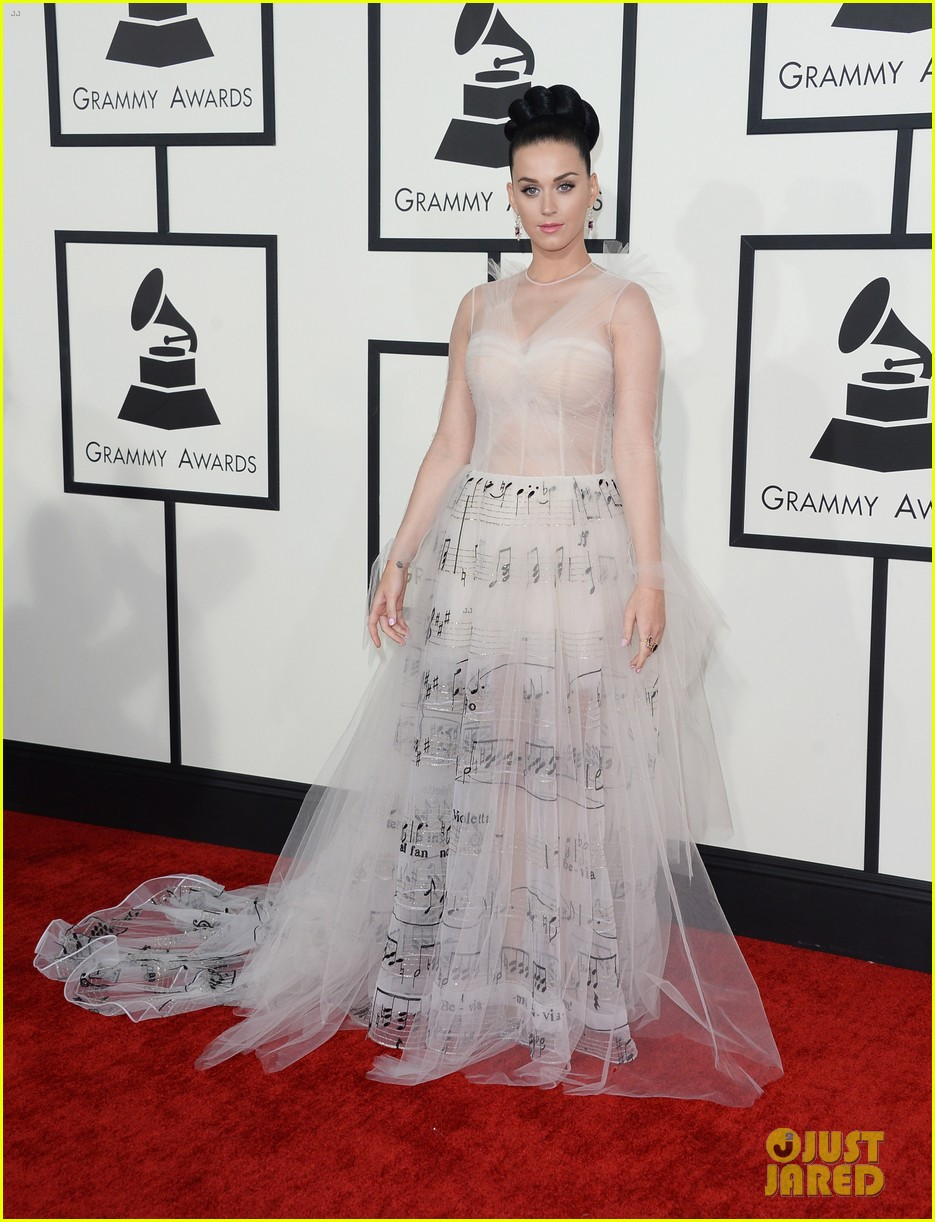 katy perry grammys 2014 red carpet 17