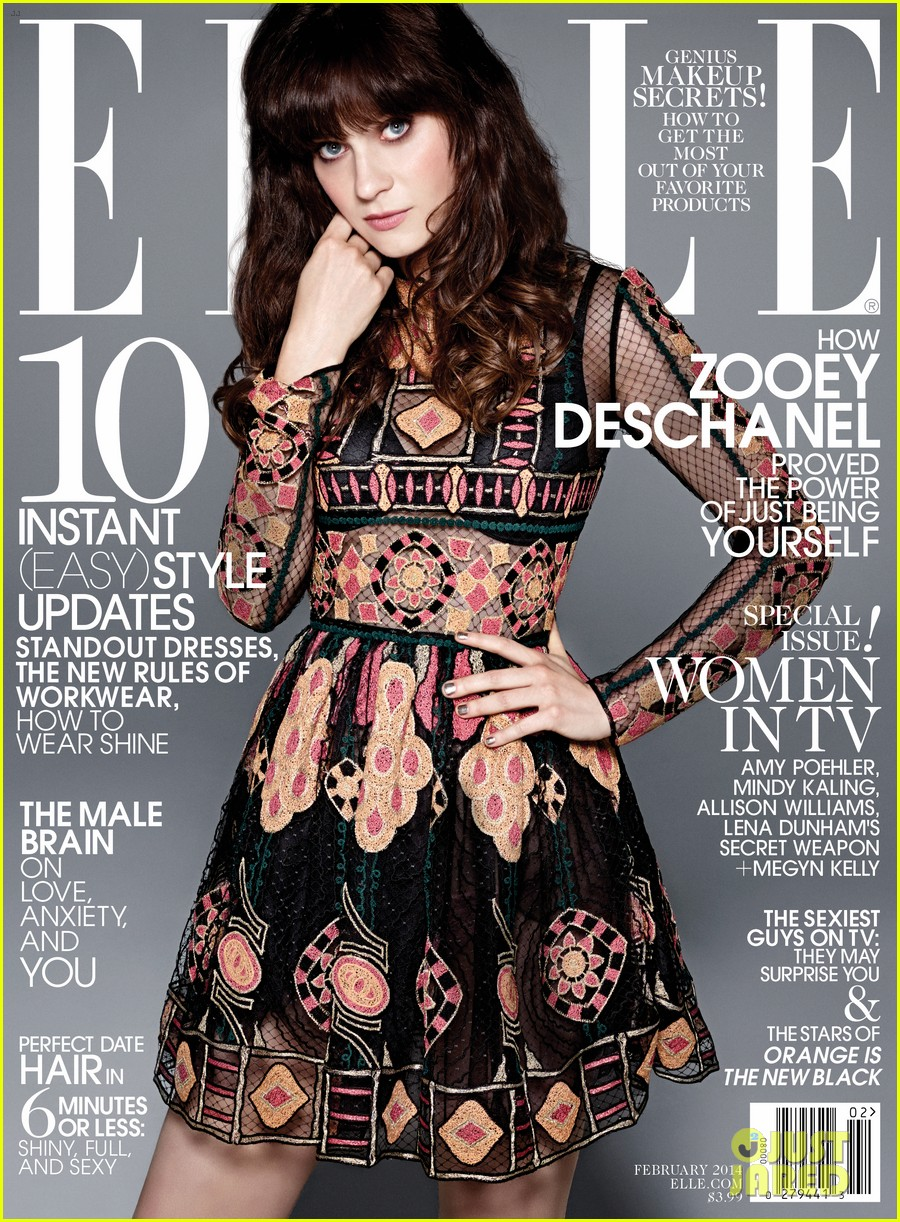 amy poehler mindy kaling more cover elle tv issue 04