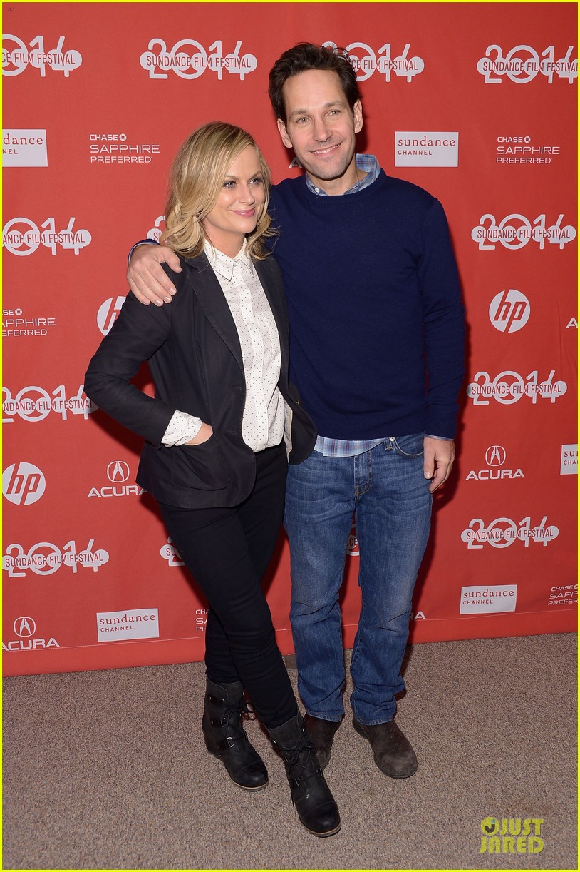amy poehler paul rudd they came together sundance premiere 083039777
