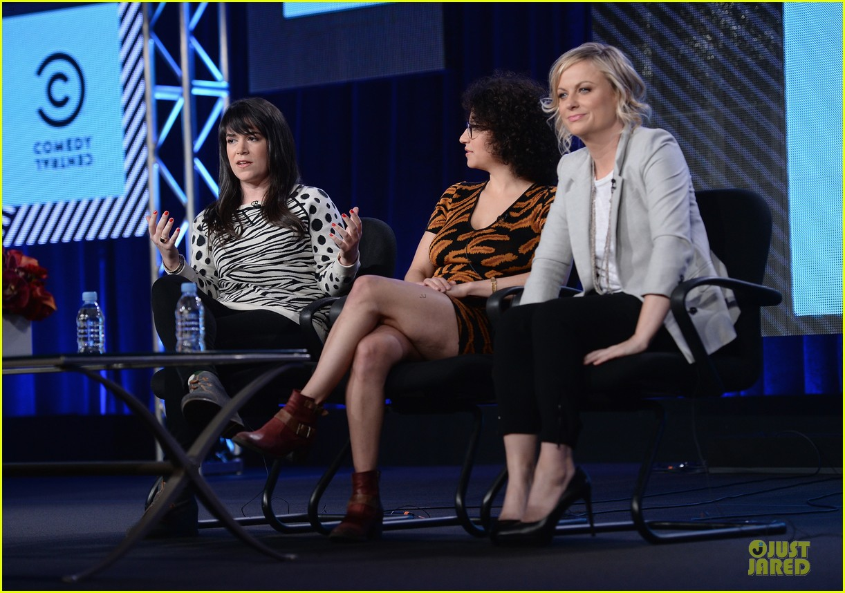 amy poehler comedy central tca winter tour panel 12