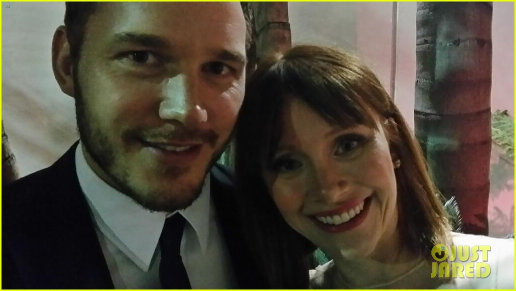 chris pratt bryce dallas howard meet at golden globes 2014 023030165