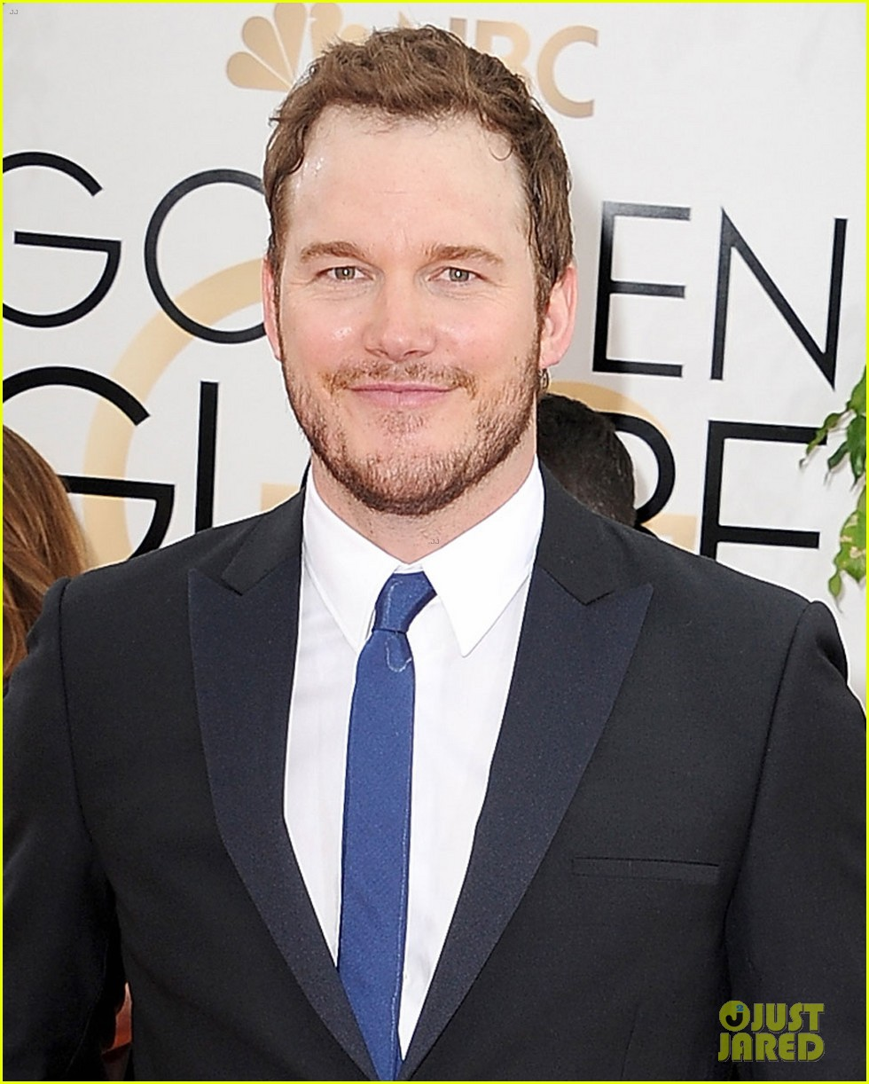 chris pratt bryce dallas howard meet at golden globes 2014 063030169