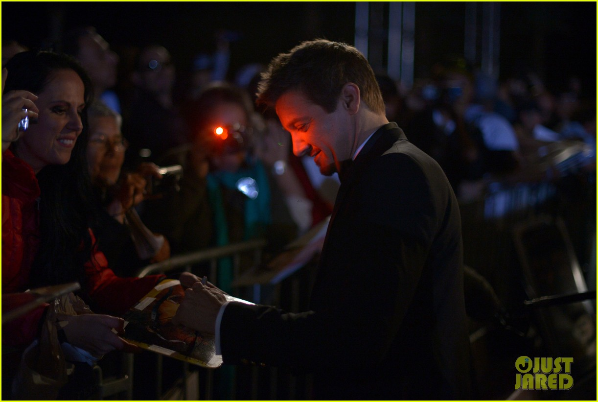 jeremy renner elisabeth rohm palm springs film festival awards gala 2014 103022820