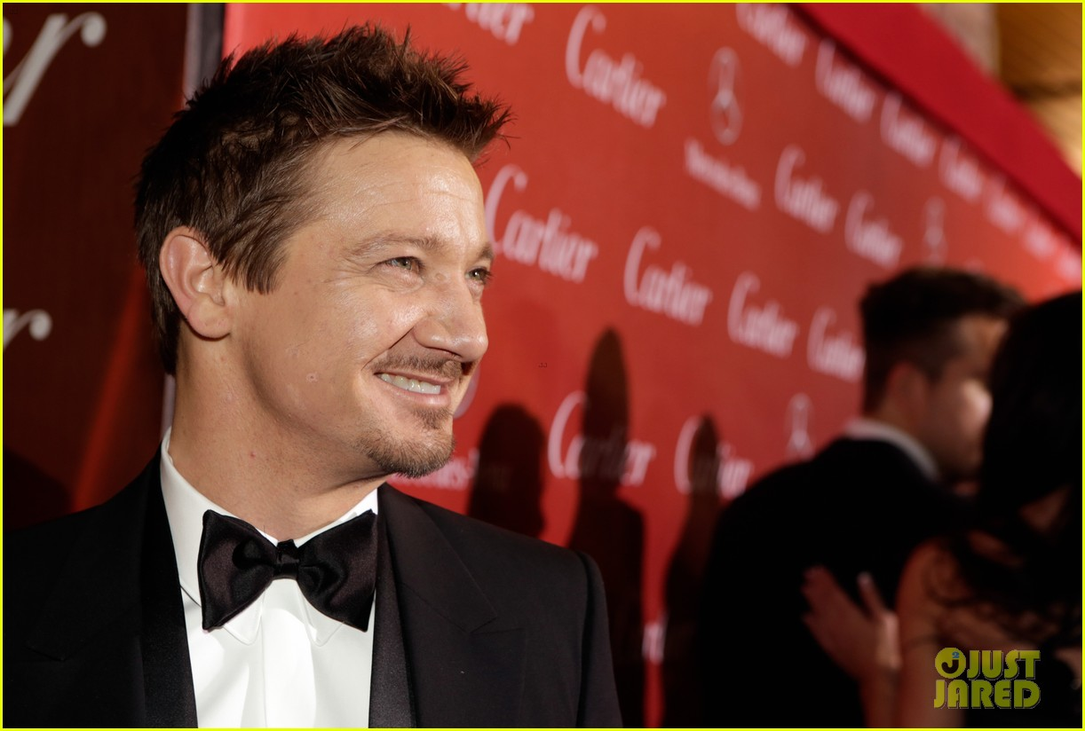 jeremy renner elisabeth rohm palm springs film festival awards gala 2014 173022827