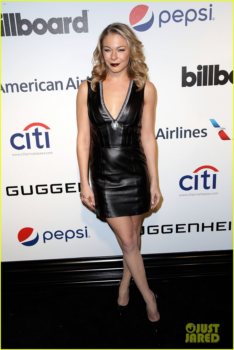 leann rimes billboards power 100 event with eddie cibrian 08