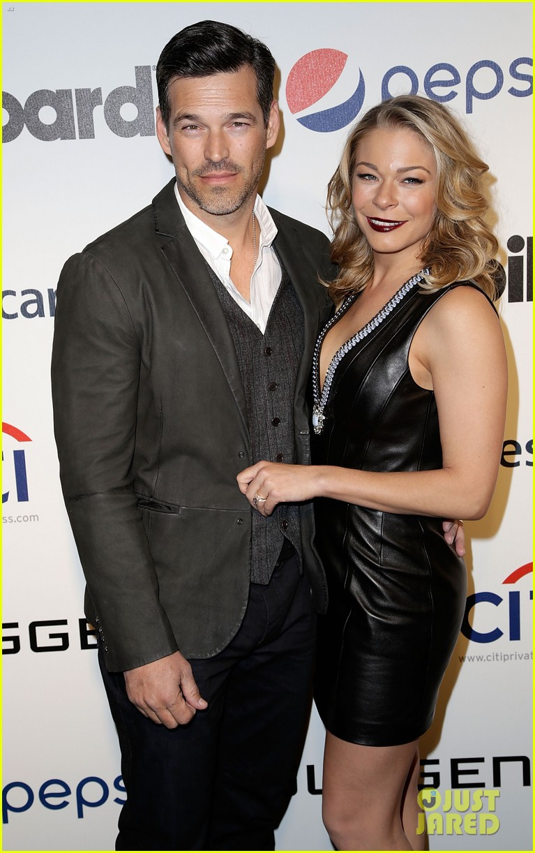 leann rimes billboards power 100 event with eddie cibrian 213038924