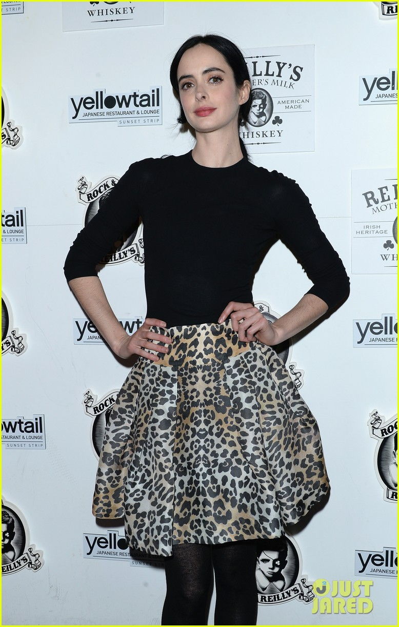 krysten ritter yellowtail cocktail party after learning to ride at sundance 043036430