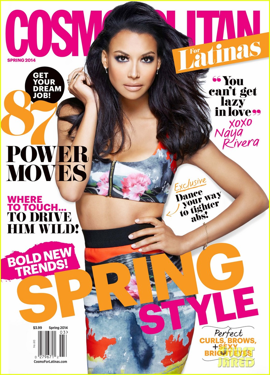 naya rivera covers cosmopolitan for latinas spring 2014 013043499