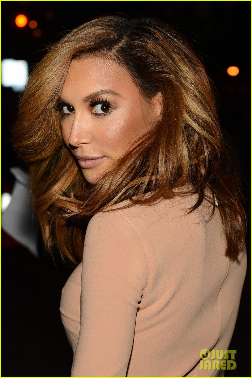 naya rivera goes blonde at peoples choice awards 2014 04