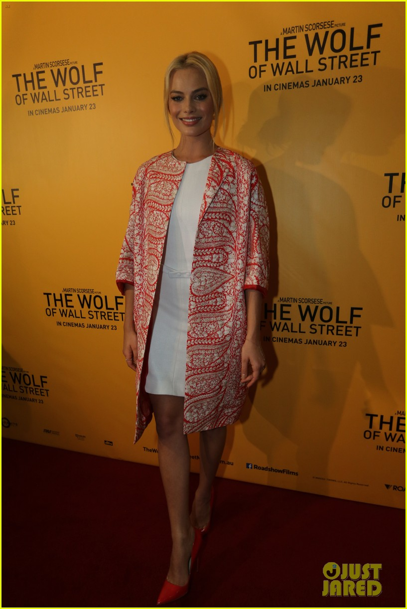 margot robbie wolf of wall street brisbane premiere 143036737