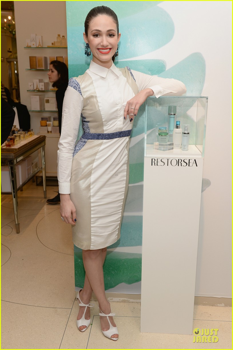 emmy rossum restorsea nyc meet greet 013039647