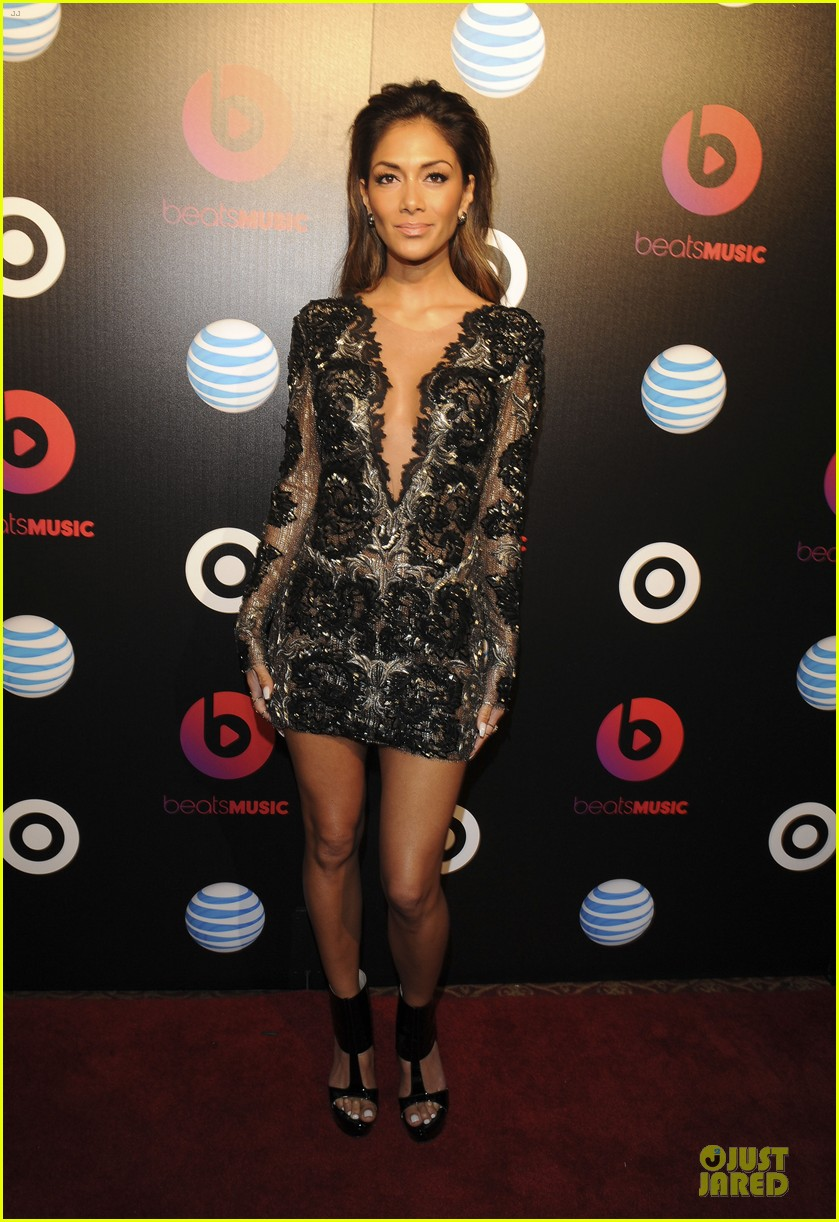 nicole scherzinger macklemore beats music launch party 01