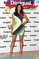 irina shayk presents new desigual campaign in spain 01