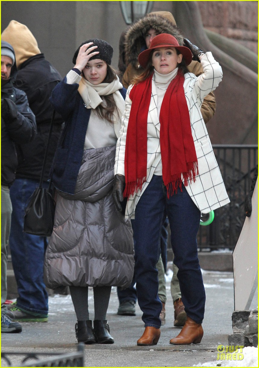 hailee steinfeld emily mortimer battle the cold for thousand saints 07