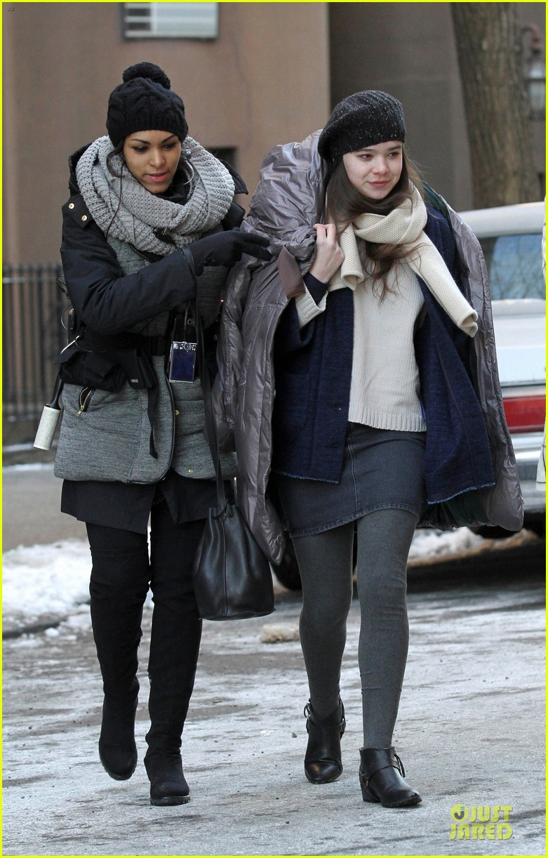 hailee steinfeld emily mortimer battle the cold for thousand saints 08
