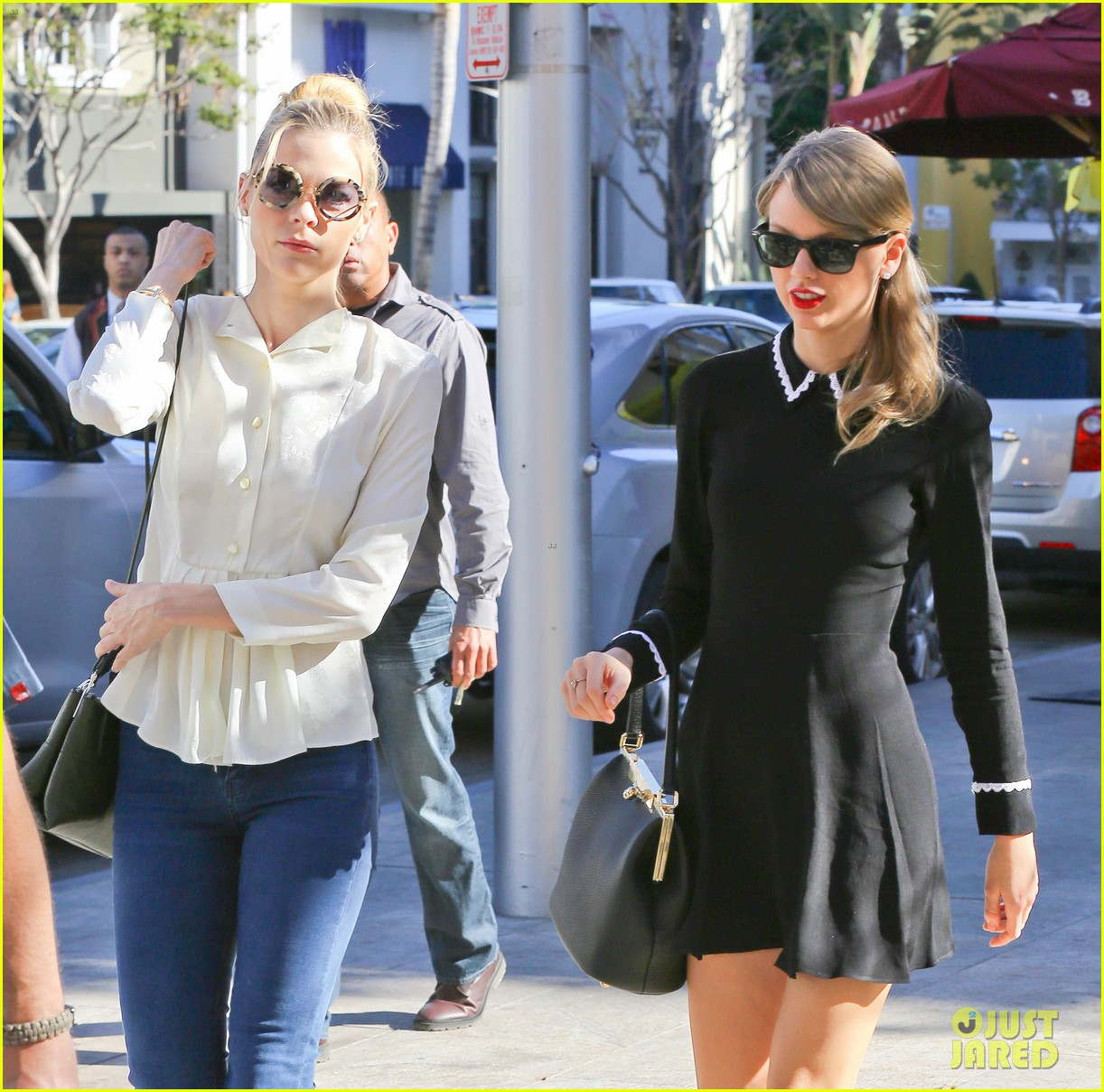 taylor swift bouchon lunch with new friend jaime king 12