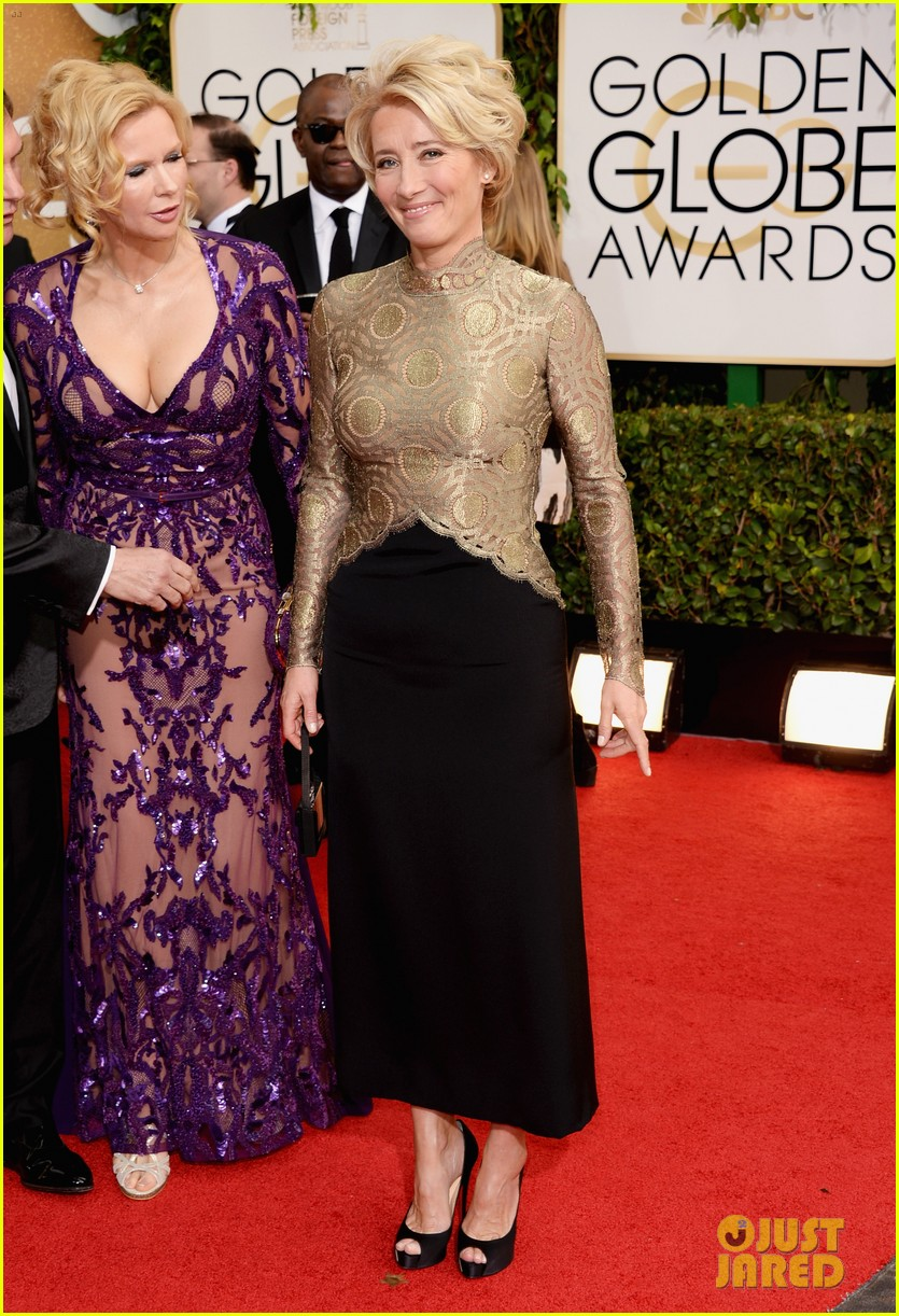 emma thompson golden globes 2014 red carpet 01