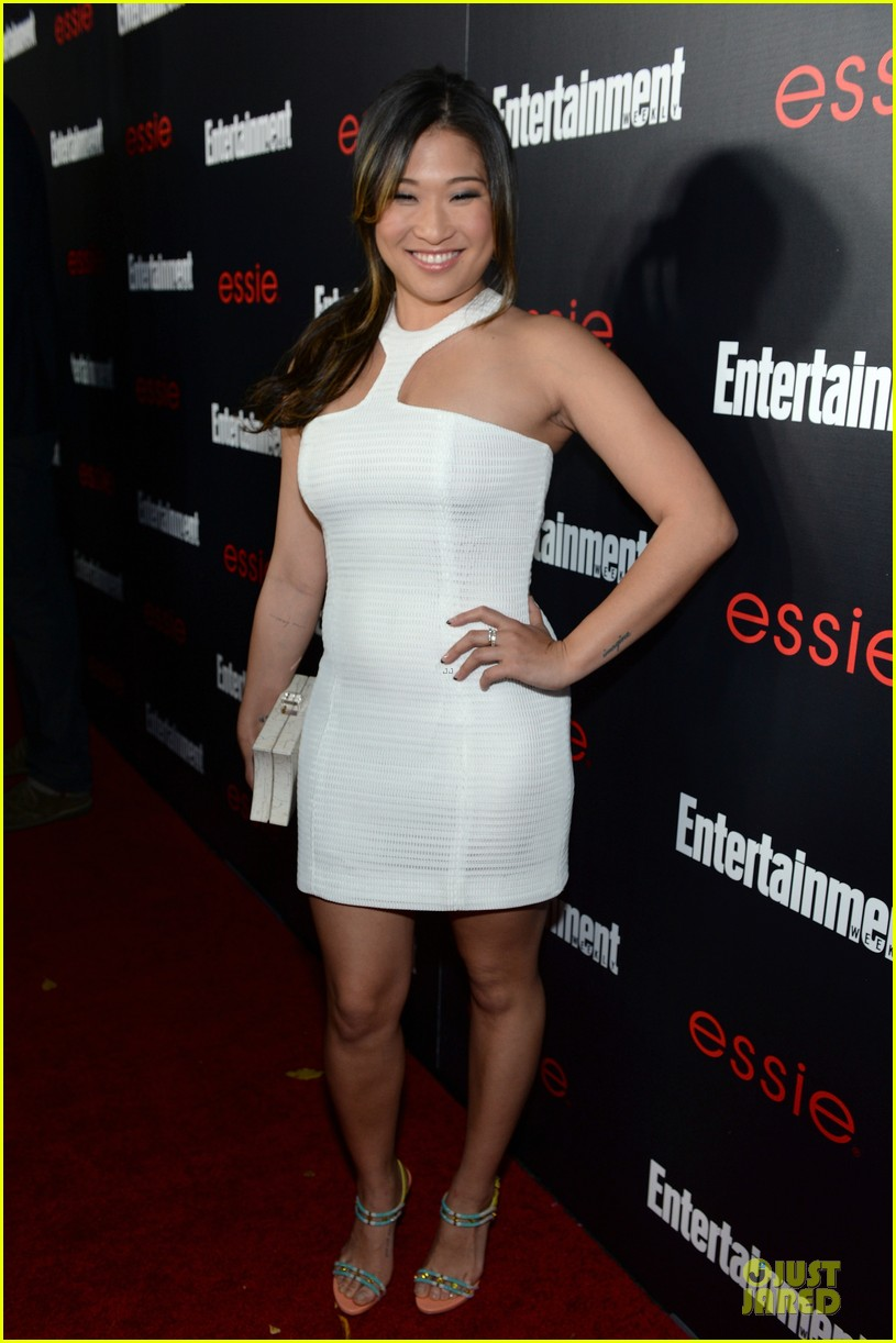 jenna ushkowitz alex newell ew sag nominees party 01