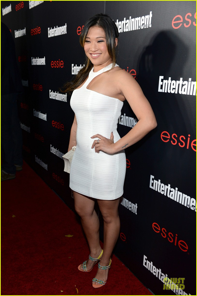 jenna ushkowitz alex newell ew sag nominees party 083034190