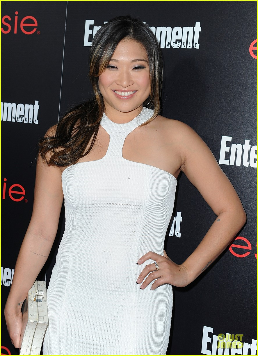 jenna ushkowitz alex newell ew sag nominees party 143034196