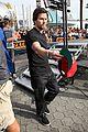 mark wahlberg promotes lone survivor on leno extra 03