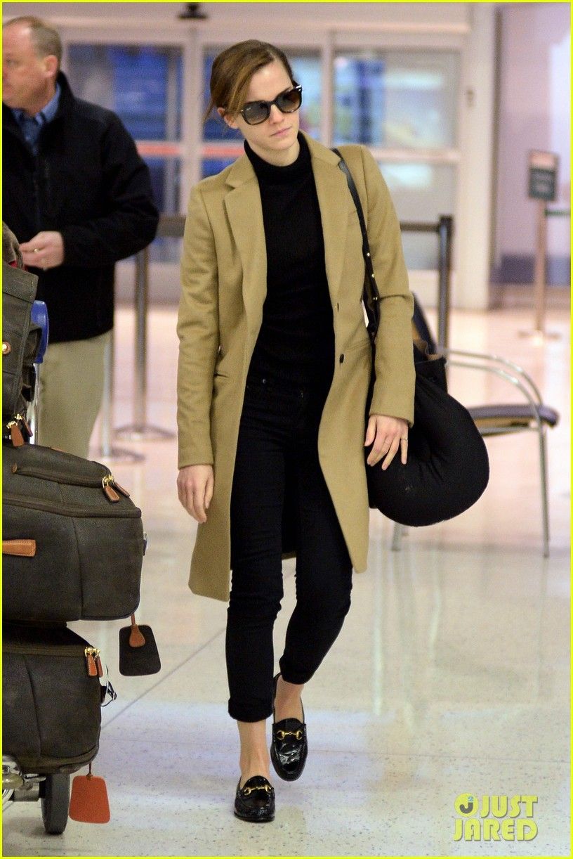 emma watson leaves new york city after quick trip 163037688