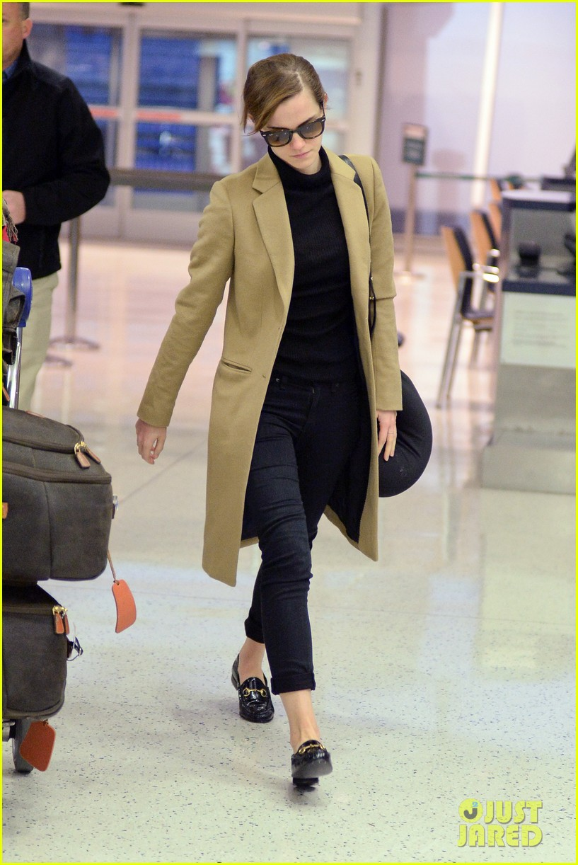 emma watson leaves new york city after quick trip 223037694