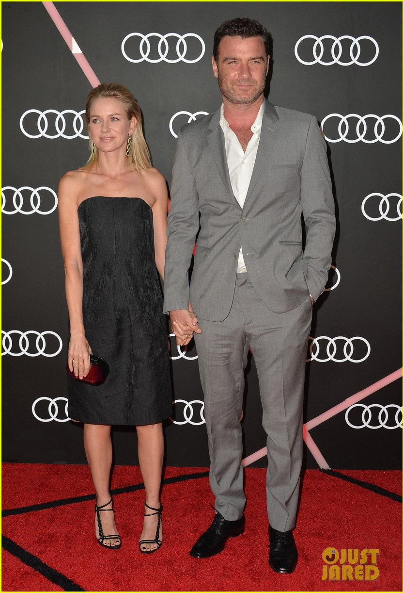 naomi watts liev schreiber audis pre golden globes party 10