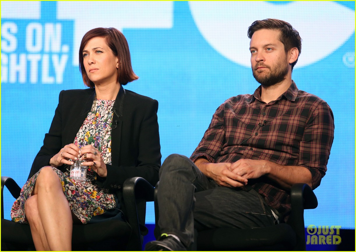 kristen wiig tobey maguire spoils of babylon tca panel 14