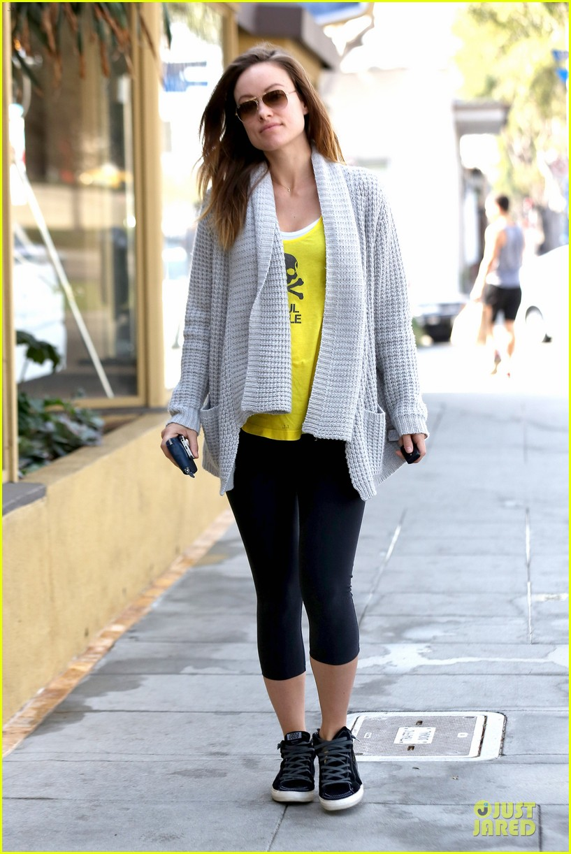 olivia wilde im very happy to see rain in la 17