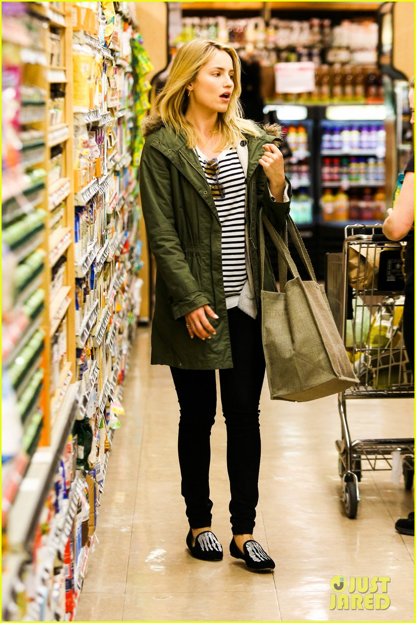 dianna agron chace crawford had a blast filming glee 09