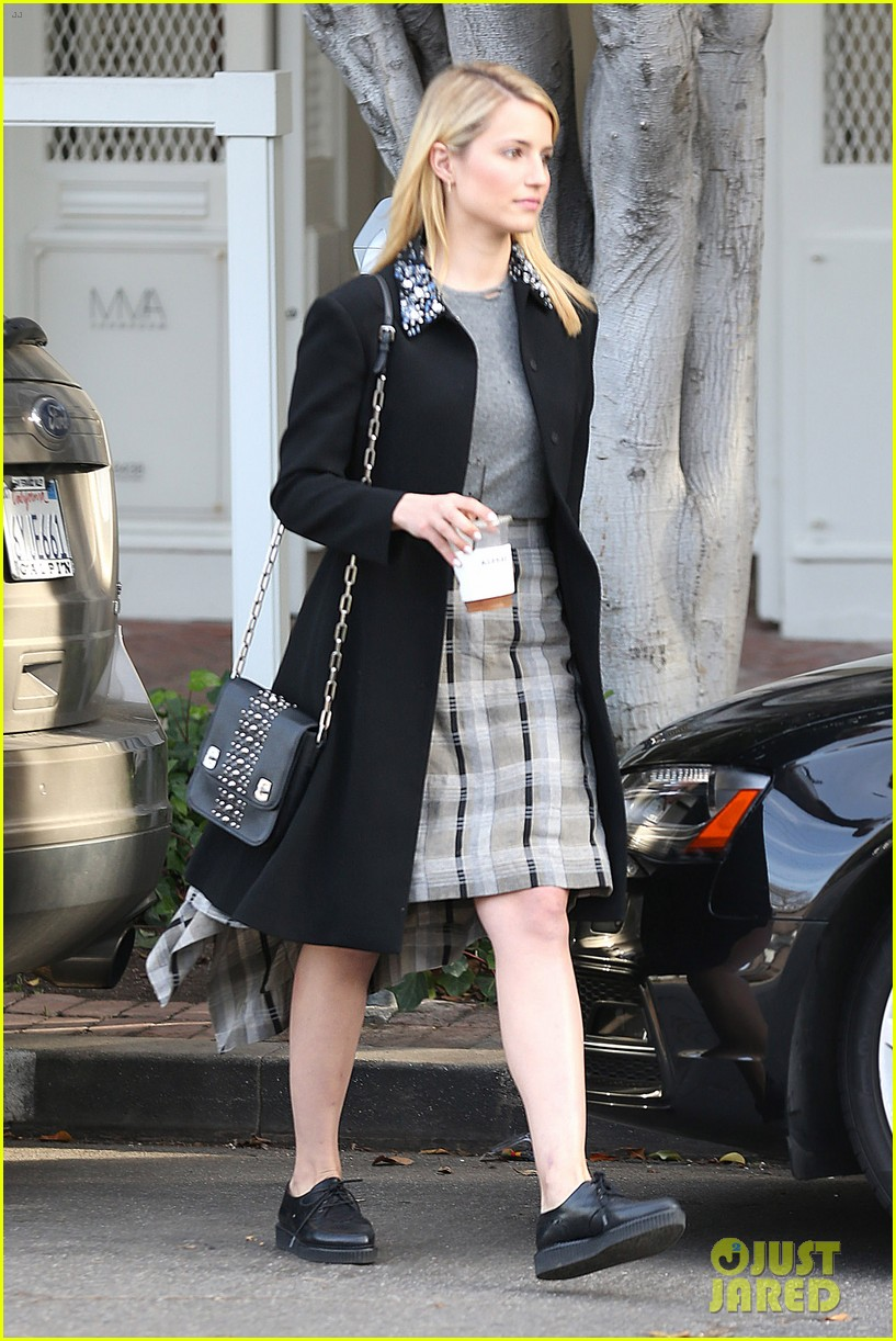 dianna agron steps out after split from nick mathers 07