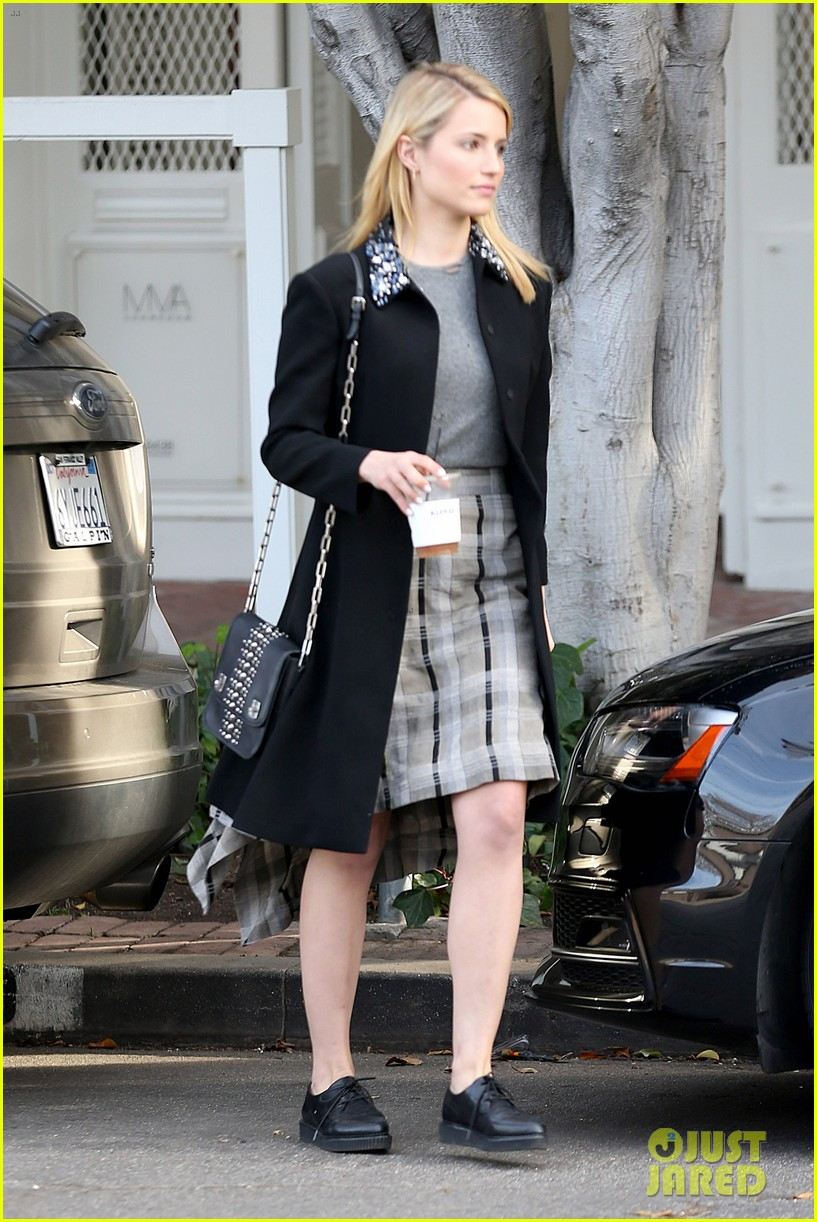 dianna agron steps out after split from nick mathers 09