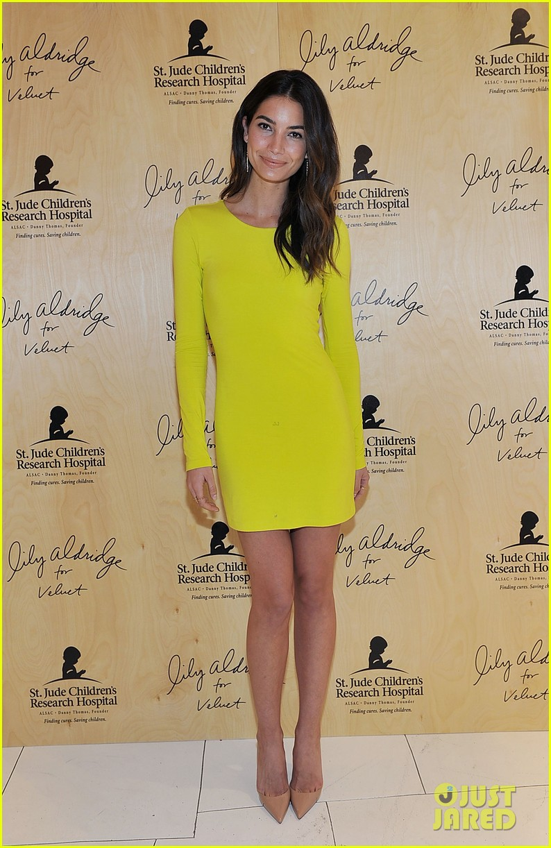 lily aldridge launches velvet line surrounded by celebrity pals 07