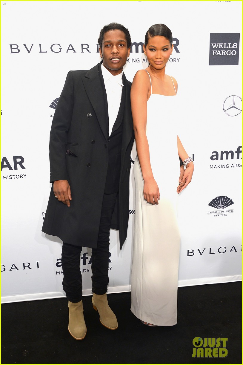 ireland baldwin chanel iman amfar gala with asap rocky 02