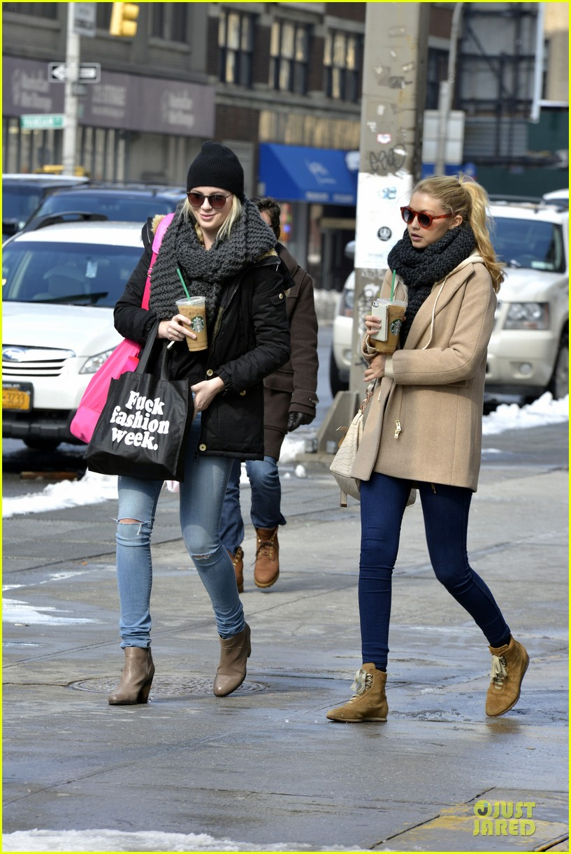 ireland baldwin hangs with gigi hadid on valentines day 073054096