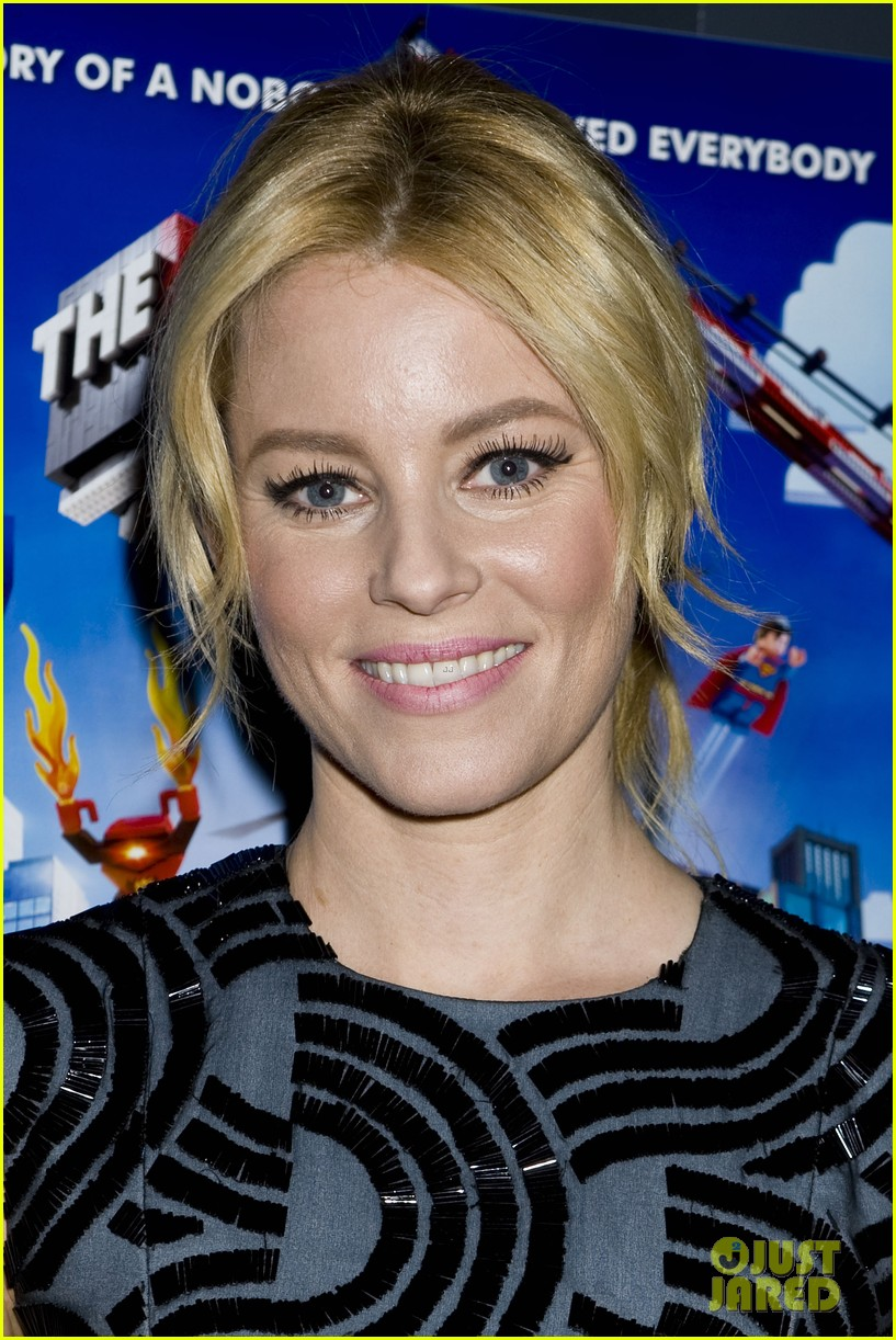 elizabeth banks chris pratt lego movie nyc screening 053048248
