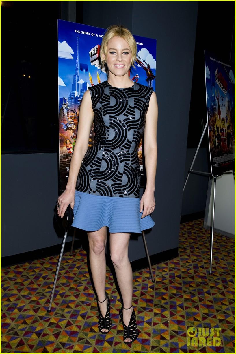 elizabeth banks chris pratt lego movie nyc screening 08