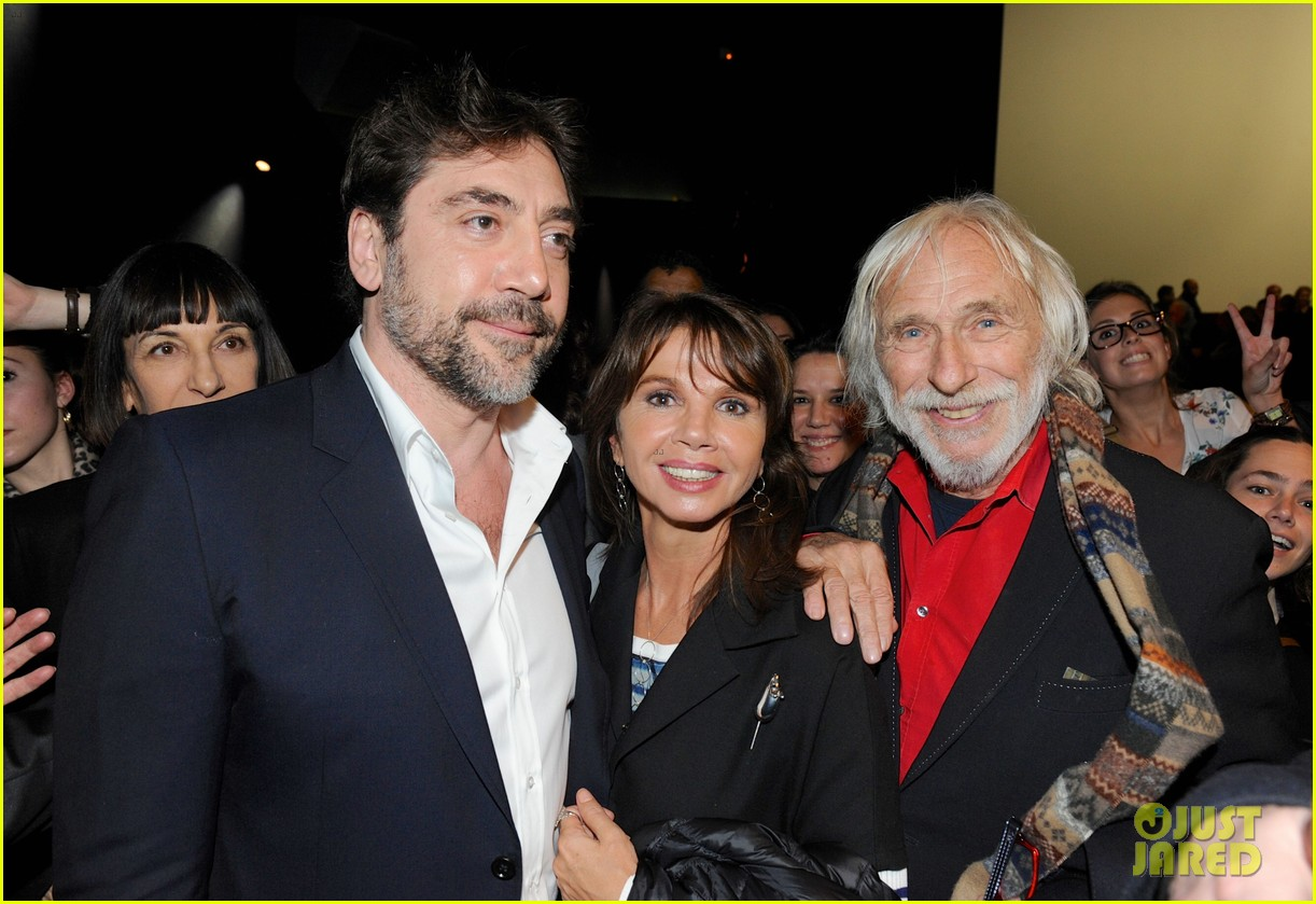 javier bardem sons of the clouds paris premiere 18