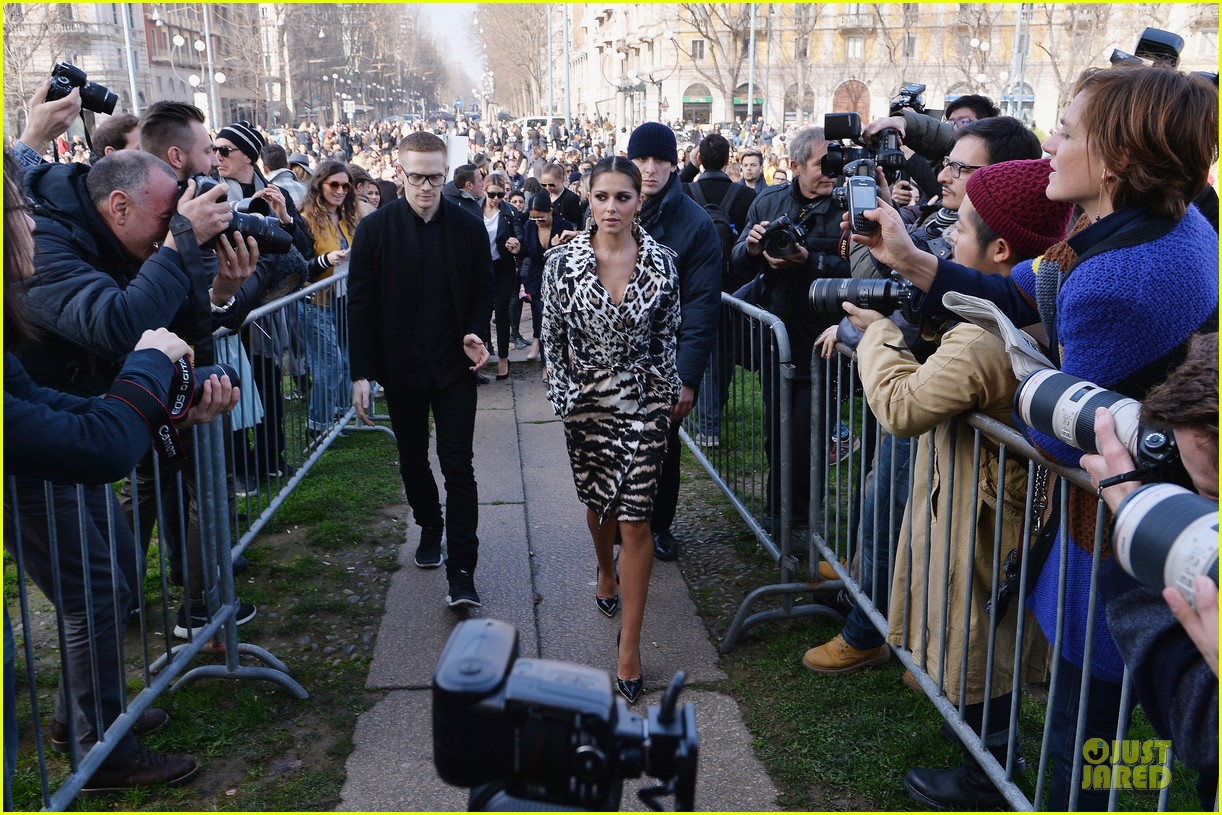 samantha barks ellie goulding roberto cavalli fashion show 11