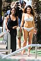 kelly brook frolicks on the beach with boyfriend david mcintosh 23