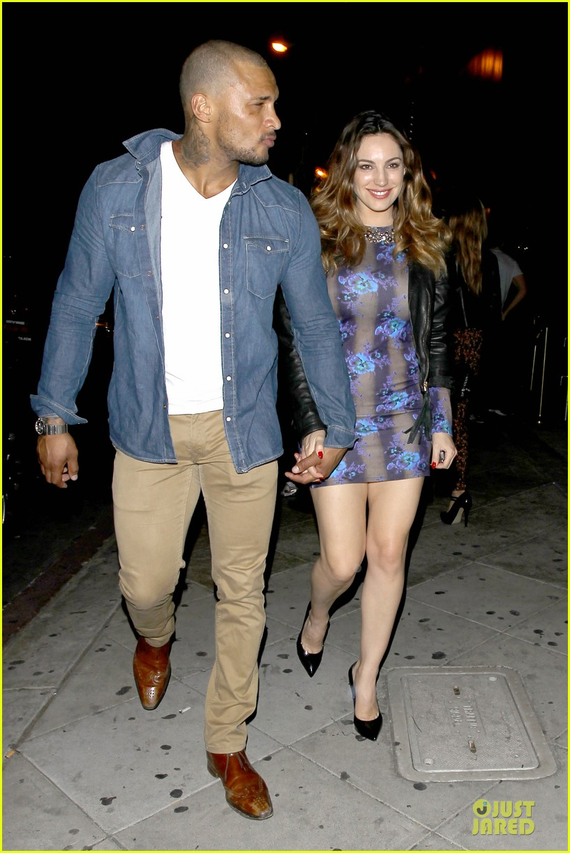 kelly brook brook mcintosh hold hands at 1 oak nightclub 09