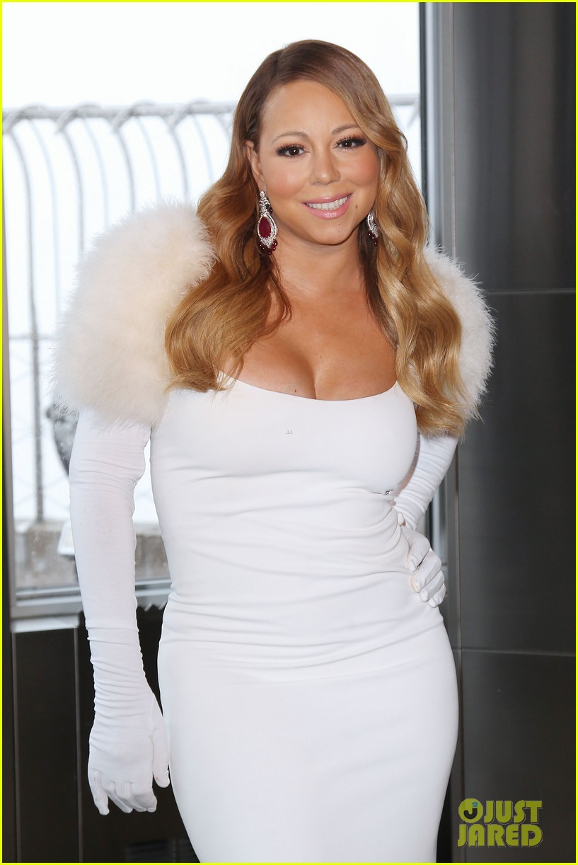mariah carey lights empire state building for valentines day wedding event 143052915
