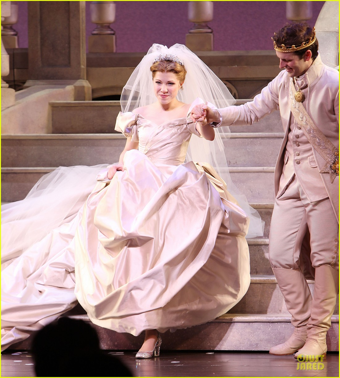 carly rae jepsen dons wedding dress for cinderella curtain call 133047804