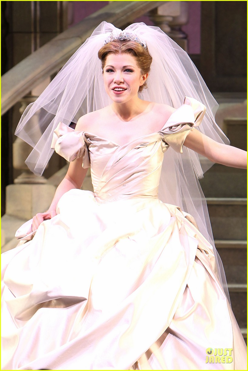 carly rae jepsen dons wedding dress for cinderella curtain call 163047807