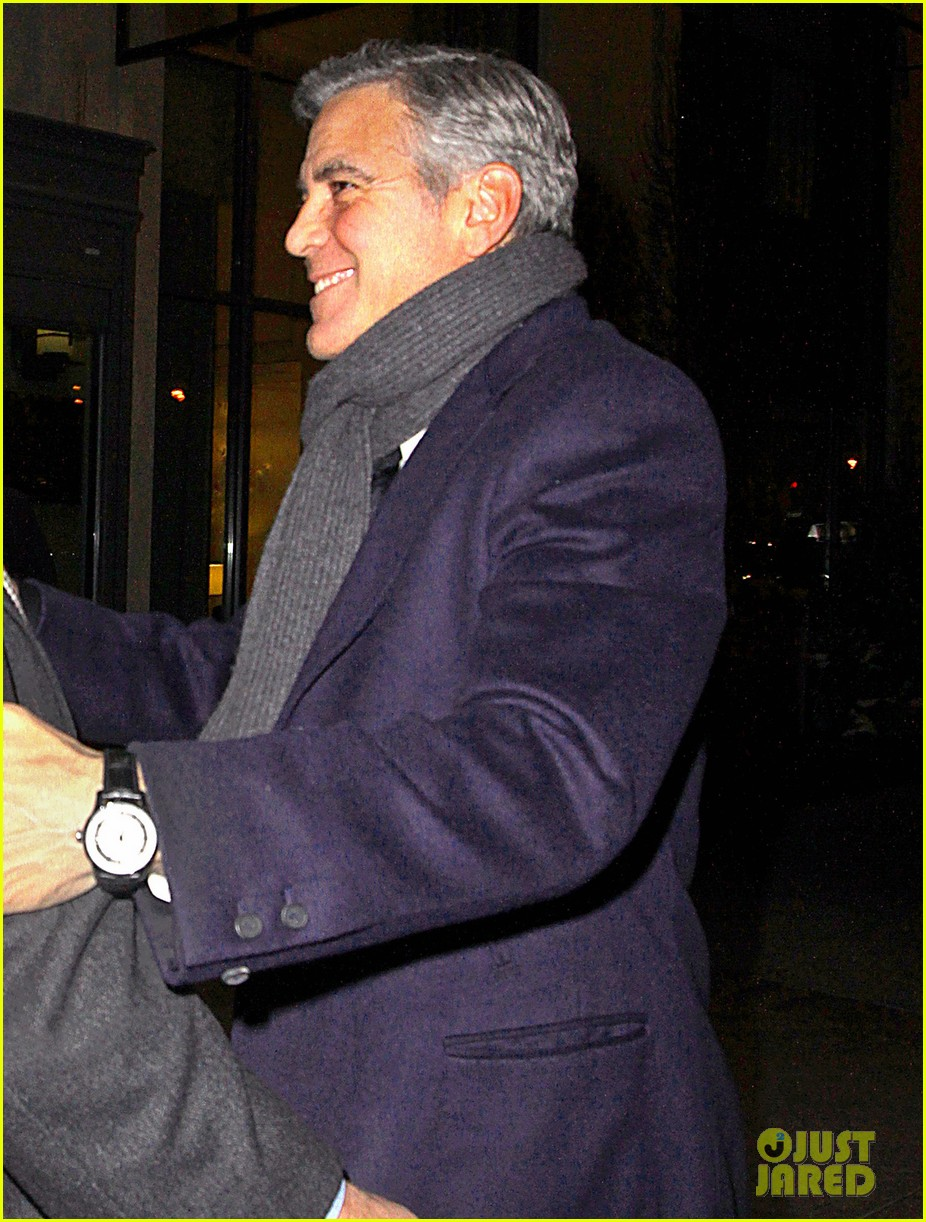 george clooney i have no fight with leonardo dicaprio 023049077