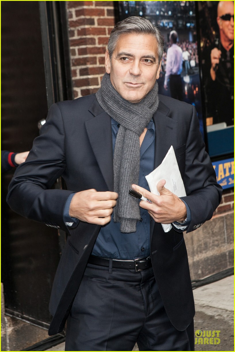 george clooney monuments men nyc premiere 10