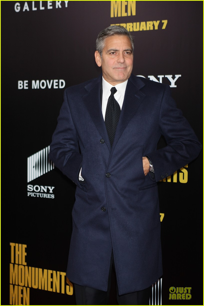 george clooney monuments men nyc premiere 173047685