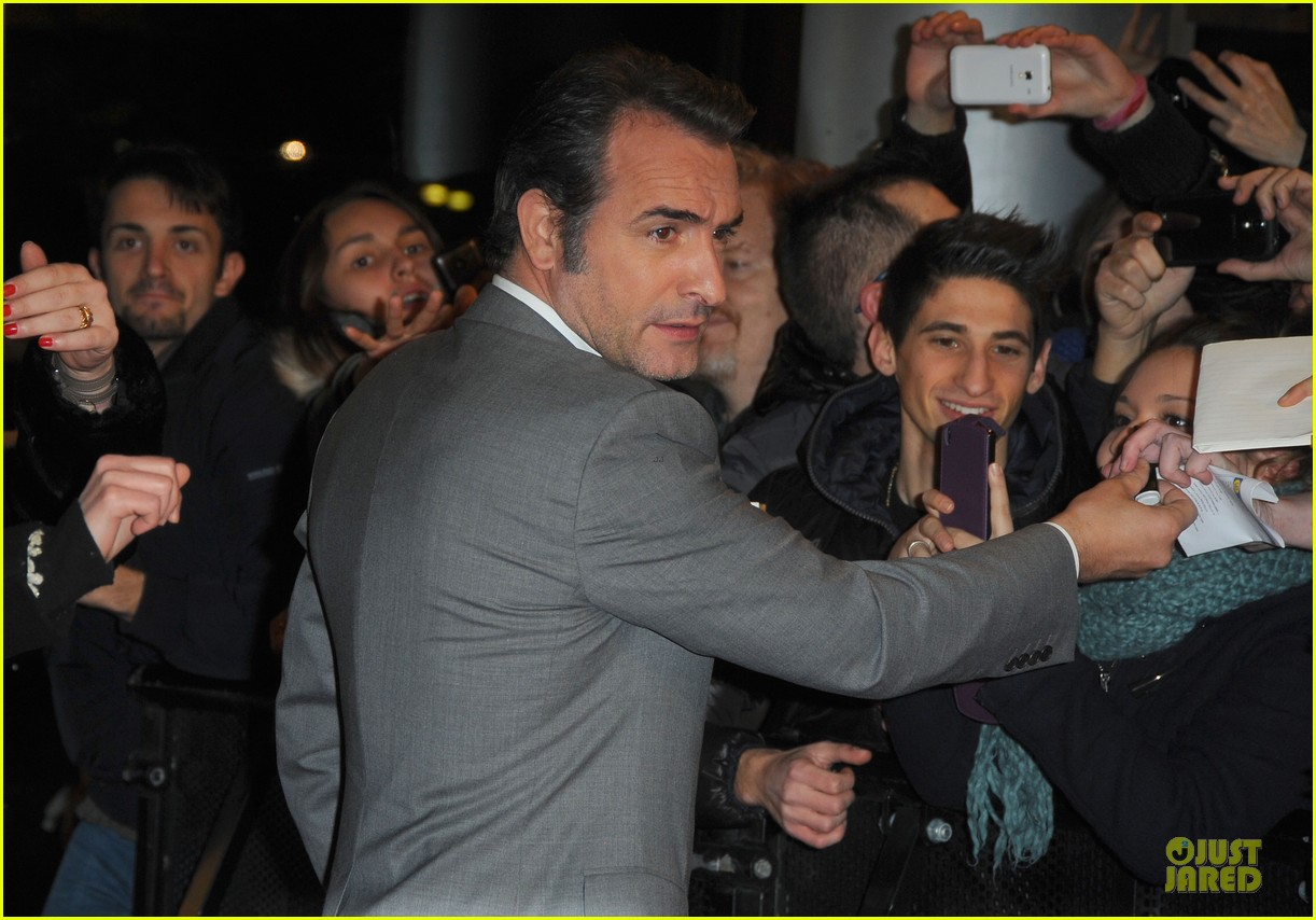 george clooney matt damon monuments men milan premiere 15